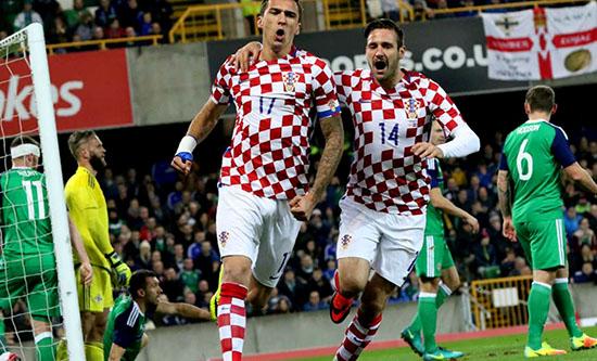 Kroasia Menang 3 – 0 Atas Irlandia Utara Di Windsor Park
