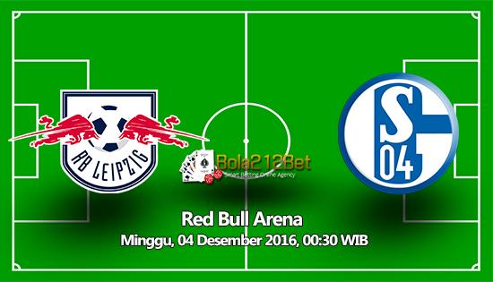Prediksi  RB Leipzig vs Schalke 04 3 Desember 2016