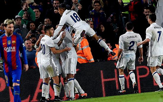Real Madrid Sukses Mengamankan 1 Angka Pada Laga El Clasico Di Camp Nou