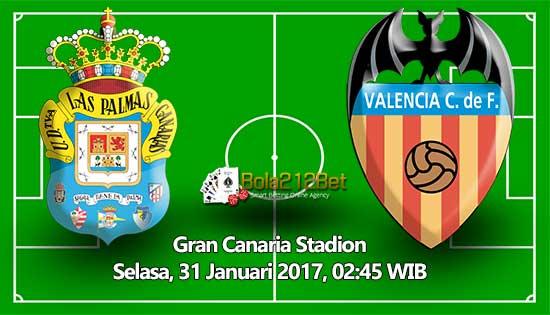 Prediksi Bola Las Palmas vs Valencia 30 Januari 2017