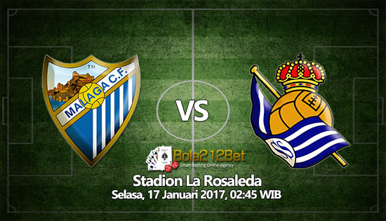 Prediksi Bola Malaga vs Real Sociedad 17 Januari 2017