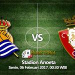Prediksi Bola Real Sociedad vs Osasuna 6 Februari 2017