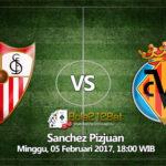 Prediksi Bola Sevilla FC vs Villarreal 5 Februari 2017