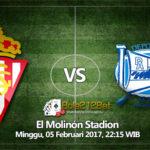 Prediksi Bola Sporting Gijon vs Alaves 5 Februari 2017